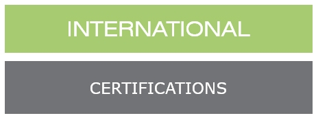INTERNATIONAL Certificat