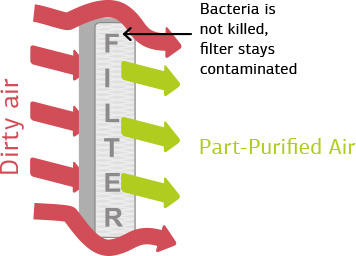 Systèmes de purification traditionnels