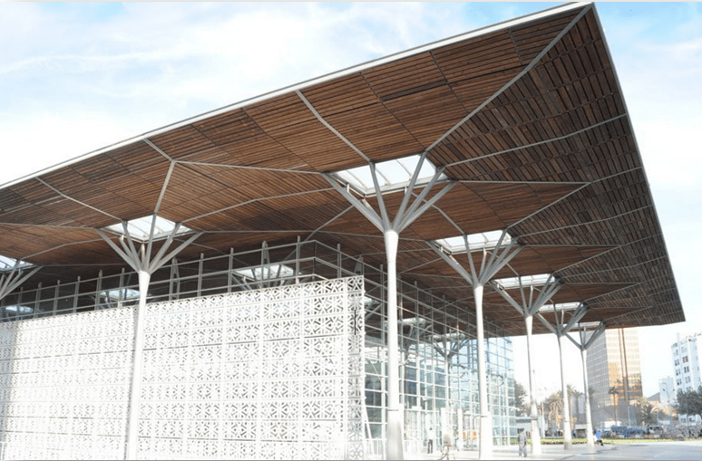 Nouvelle Gare ONCF Casa port